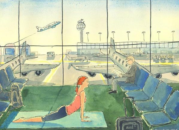 yoga at travel time